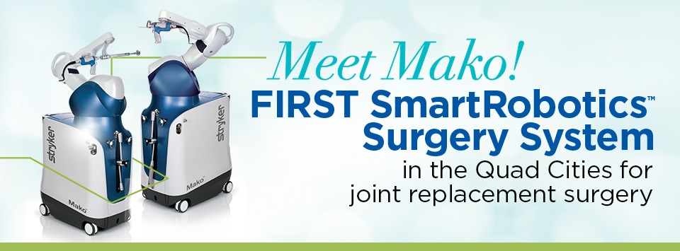 Meet Mako! First SmartRobotics Surgery System